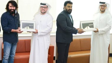 Mohanlal and Mammootty Receive UAE Golden Visa; Their Pictures Take Social Media by Storm!