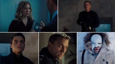 No Time to Die Final Trailer Out! Daniel Craig's James Bond May Face His Biggest Foe in Rami Malek's Mysterious Safin (Watch Video)