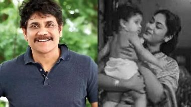 Nagarjuna Akkineni Birthday Special: The Telugu Superstar Debuted In Movies When He Was Only Eight-Months Old  (Watch Video)