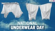 It's National Underwear Day 2021! Netizens Post Funny Memes, Happy Messages, Cartoon Images and Quotes to Wish on Undies Day