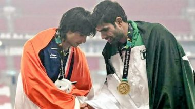 Neeraj Chopra Opens Up About Indo-Pak Rivalry at Tokyo Olympics 2020, Says 'Would Have Been Good if Arshad Had Won A Medal Too'