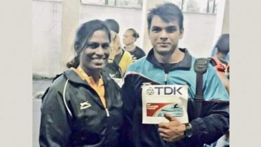 PT Usha Congratulates Neeraj Chopra for His Gold Medal-Winning Performance at Tokyo Olympics 2020, Says, 'Realised My Unfinished Dream Today After 37 Years'