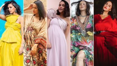 Neha Dhupia Birthday Special: Powerful and Confident, Her Style Always Hits the Right Notes (View Pics)