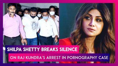Shilpa Shetty Breaks Silence On Husband Raj Kundra's Arrest In Pornography Case, Says, 'Don't Deserve Media Trial'