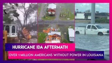 Hurricane Ida Aftermath: Over 1 Million Americans Without Electricity In Louisiana, Flooding In Some Parts