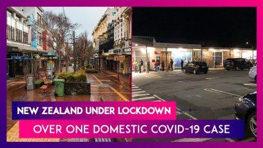 Jacinda Ardern Announces New Zealand Lockdown Over One Domestic COVID-19 Case