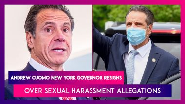 Andrew Cuomo, New York Governor Resigns After Being Hit By 11 Sexual Harassment Claims