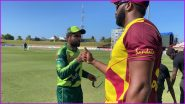 Pakistan vs West Indies 3rd T20I Live Streaming Online on FanCode: Get PAK vs WI Cricket Match Free TV Channel and Live Telecast Details On PTV Sports