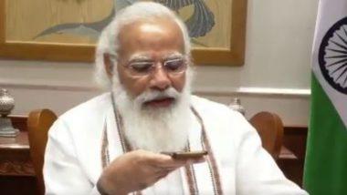 PM Narendra Modi To Launch Sansad TV on September 15