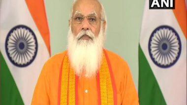India News   PM Modi to Interact with PM Garib Kalyan Anna Yojana Beneficiaries of Gujarat on Tuesday