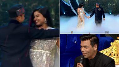 Indian Idol 12: Pawandeep Rajan, Arunita Kanjilal Recreate Shah Rukh Khan-Kajol's Romantic Scene From Kuch Kuch Hota Hai (Watch Video)