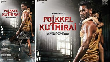 Prabhudeva's First Look From His Next Poikkal Kuthirai Looks Gripping; Check Out the Poster!