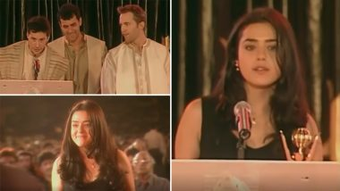 Preity Zinta Celebrates 23 Years in Bollywood; Recalls Her Journey in the Industry With a Throwback Video!