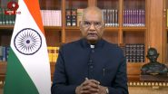 Audit Engagements Provide a Unique Opportunity of Gaining Deep Understanding of System and Place, Says President Ram Nath Kovind