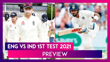 ENG vs IND 1st Test 2021 Preview & Playing XI: Teams Aim For Winning Start To Five-Match Series