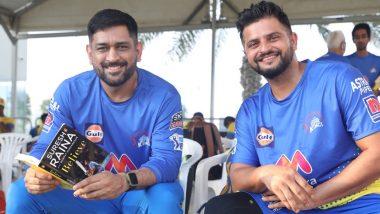 IPL 2021 Diaries: MS Dhoni Enjoys Reading Suresh Raina's Autobiography 'Believe', CSK Shares Picture