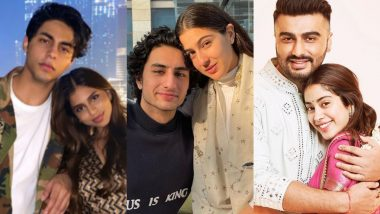 Raksha Bandhan 2021: Suhana-Aryan, Sara-Ibrahim, Janhvi-Arjun – 5 Sibling Jodis We Want To See on the Big Screen Together!