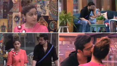 Bigg Boss OTT: Raqesh Bapat Kisses Shamita Shetty After She Gets Upset With Him Over Divya Agarwal (Watch Video)