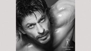 Shah Rukh Khan, Going Shirtless, Looks Both Naughty And Nice for Dabboo Ratnani's 2021 Calendar Shoot (View Pic)