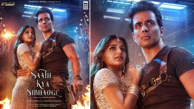 Saath Kya Nibhaoge First Look Out! Sonu Sood And Nidhhi Agerwal Are Ready To Reveal The 'Song Of The Year'