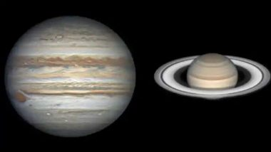 Saturn & Earth to Come Closest at a Gap of 1 Year & 13 Days Today, Average Distance Between Two Planets to be 120 Crore-Km