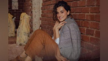 Entertainment News | Fans, Bollywood Celebrities Shower Taapsee Pannu with Heartfelt Birthday Wishes