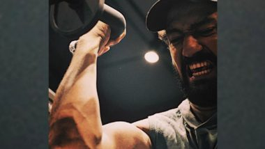 Entertainment News | Vicky Kaushal Gives a Glimpse of His Intense Workout Routine