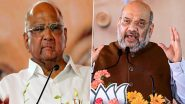 NCP Chief Sharad Pawar Clears Air Amid Speculation Over Meeting With Amit Shah; Says 'Official Work'