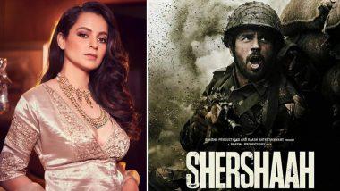 Kangana Ranaut Is All Praises for Karan Johar, Sidharth Malhotra's Shershaah, Shares Her Views on Social Media