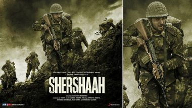 Shershaah Full Movie in HD Leaked on TamilRockers & Telegram Channels for Free Download and Watch Online; Sidharth Malhotra And Kiara Advani's War Film Is the Latest Victim of Piracy?