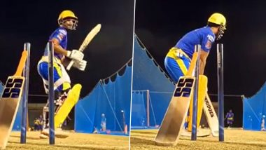 IPL 2021 Diaries: MS Dhoni and Suresh Raina Are Back as The CSK Players Begin Training for the Remainder of T20 Tournament (Watch Video)