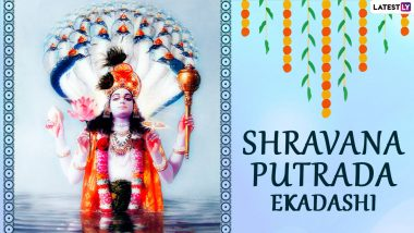 Shravana Putrada Ekadashi 2021 Images & Pavitra Ekadashi HD Wallpapers: Happy Pavitropana Ekadashi Messages, WhatsApp Stickers, Messages and Telegram Greetings To Observe the Day