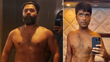 Silambarasan's Massive Body Transformation for Vendhu Thanindhathu Kaadu Takes the Internet by Storm! (View Pic)
