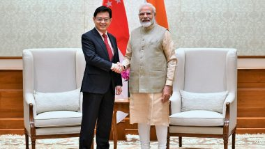 India Has Key Role to Play in Contributing to Diversification of Global Supply Chain, Says Singapore Deputy PM Heng Swee Keat