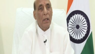 India News | Rajnath Singh Reaches out to Opposition in RS Seeking Cooperation in House
