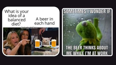 International Beer Day 2021 Funny Memes and Jokes: Hilarious Posts, Messages and Quotes to Share With Your Beer Bud