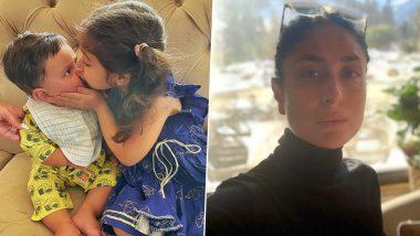 Kareena Kapoor Khan's Son Jeh Looks Adorable in Glimpse From His First Raksha Bandhan (View Pic)