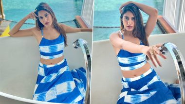 Surbhi Chandha Stuns In Trendy Tie-Dye Outfit; Shares Stunning Pics And Video From Her Maldives Vacay
