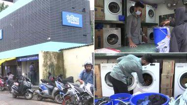 Mumbai: Community Washing Facility Introduced for Slum Dwellers in Qureshi Nagar