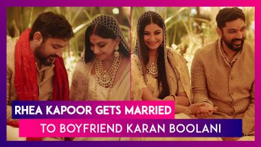 Rhea Kapoor, Sonam Kapoor's Sister Gets Hitched To Boyfriend Karan Boolani; All You Need To Know