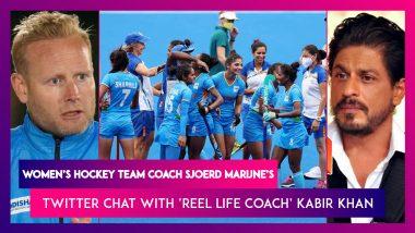 Sjoerd Marijne, Indian Women's Hockey Coach Tweets Back To Shah Rukh Khan After The 'Chak De India' Coach Congratulates On Tokyo 2020 Performance