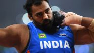 Tajinderpal Singh Toor Misses Out on Finals Place in Men's Shot Put at Tokyo Olympic Games 2020
