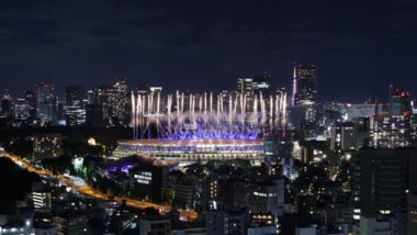 Fireworks Mark End of Tokyo Olympic Games 2020