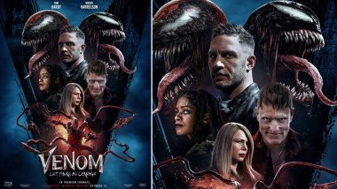 Venom - Let There Be Carnage: Tom Hardy's Anti-Hero Film Teases New Poster To Amp Up the Excitement for October 15 Release