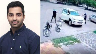 Youth Akali Dal Leader Vicky Middukhera Shot Dead in Broad Daylight in Mohali, Murder Caught on CCTV Camera