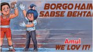 Amul Celebrates Lovlina Borgohain's Bronze Medal at Tokyo Olympics 2020 With its Latest Topical