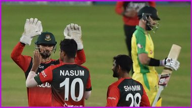 Australia Bowled Out for Their Lowest Total in T20Is, Lose Series 1-4 Against Bangladesh