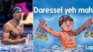 Amul Congratulates Caeleb Dressel After American Swimmer Wins Five Gold Medals At Tokyo Olympics 2020 In Latest Topical