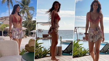 Disha Patani Is Majorly Missing the Sea; Shares a Stunning Throwback Video in Summery Beachwear! (Watch Video)