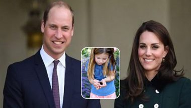Prince William, Kate Middleton Share Adorable Pic of Their Cute Little 6-Year Old Daughter Princess Charlotte